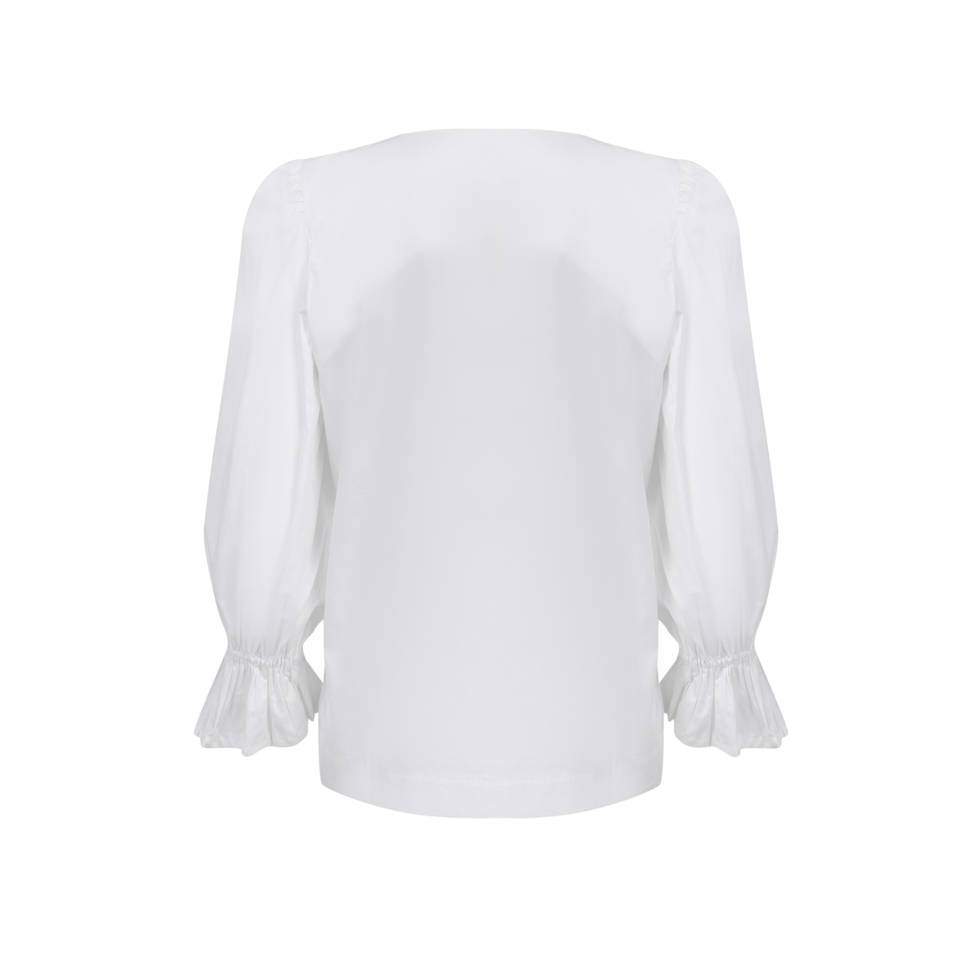 Camisa Tricoline Estrela Bordada
