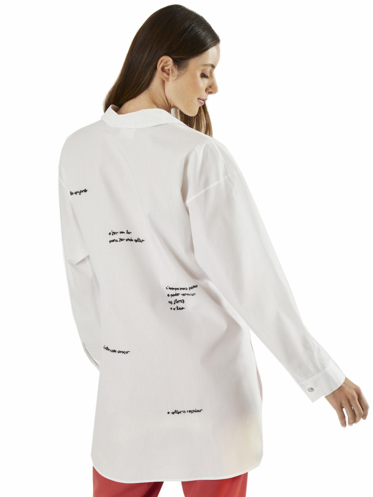 Camisa Tricoline Poema