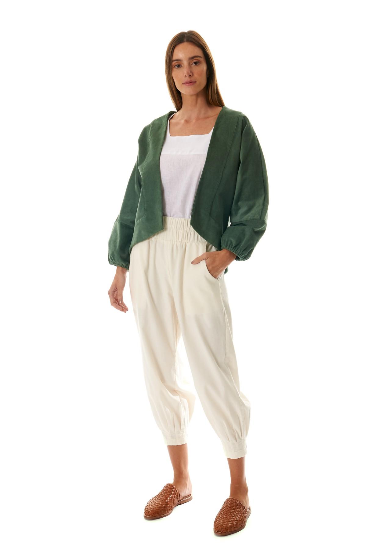 Kimono Curto Veludo