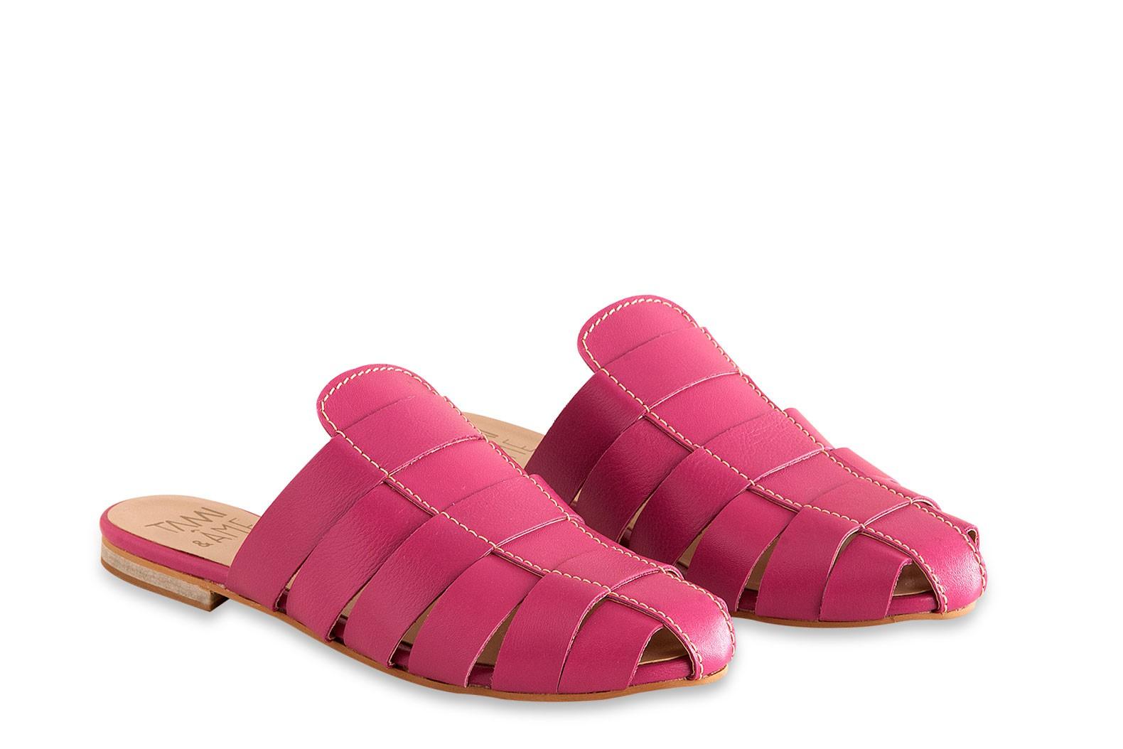 Mule Pink Collab Âme & Tami