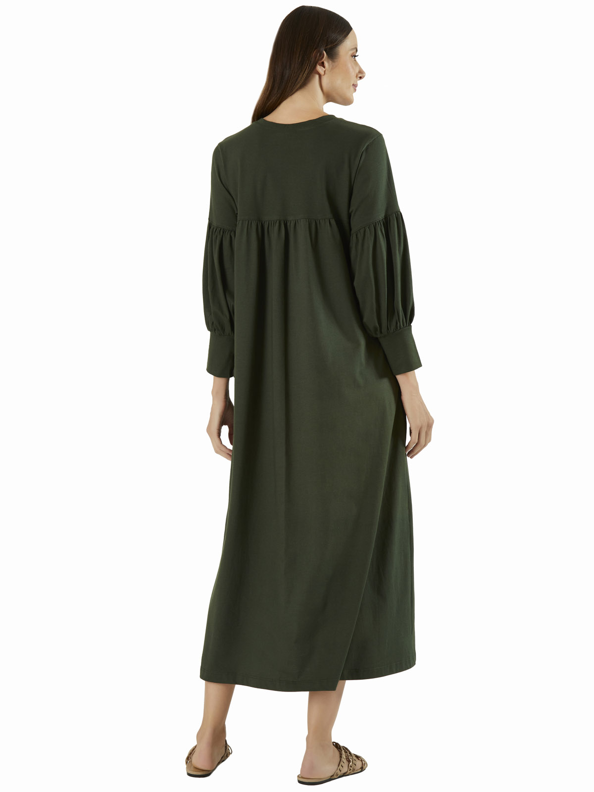Vestido Malha Bufante