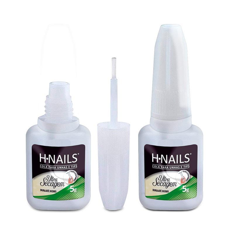 Cola para Unhas e TIPs H.NAILS 5g