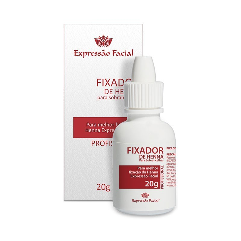 Fixador de Henna Expressão Facial Hintz Cosmetics 20G