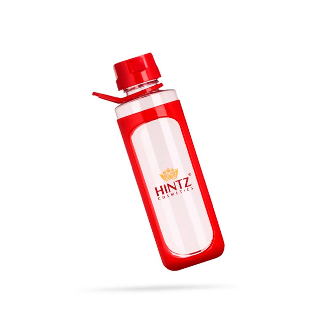 Garrafa Squeeze Acrílico Transparente com Alça Hintz Cosmetics