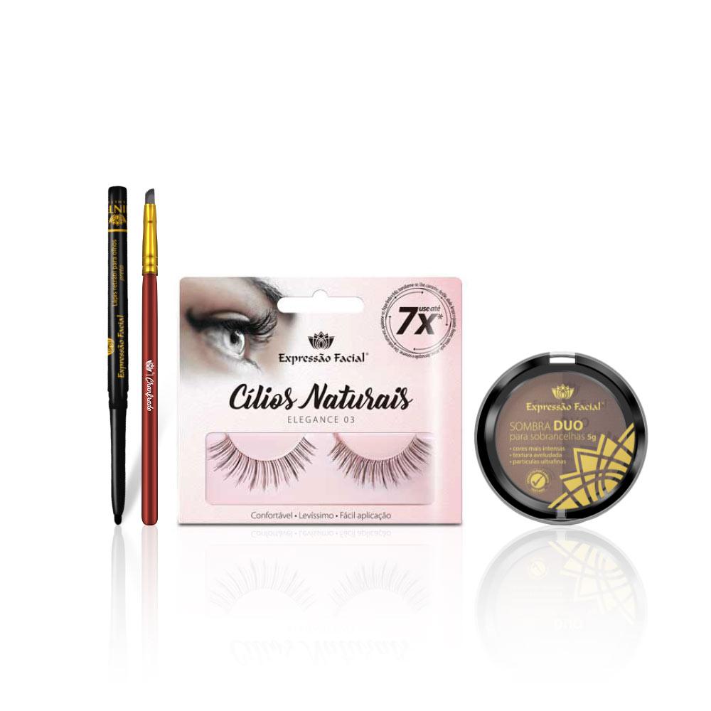 Kit de Maquiagem - Blogueirinha