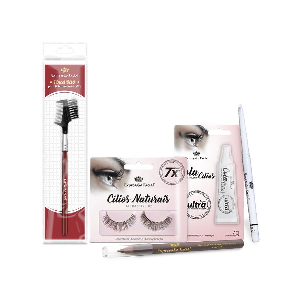 Kit para Maquiagem - Glamurosa
