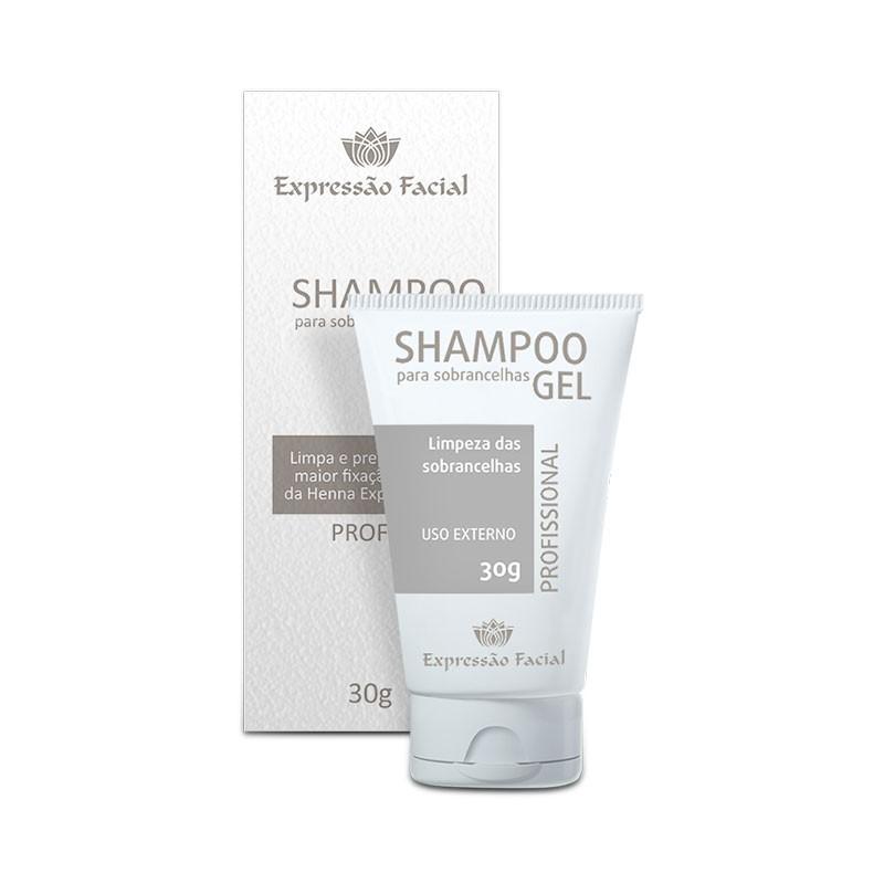 Shampoo Gel para Sobrancelhas Expressão Facial 30g