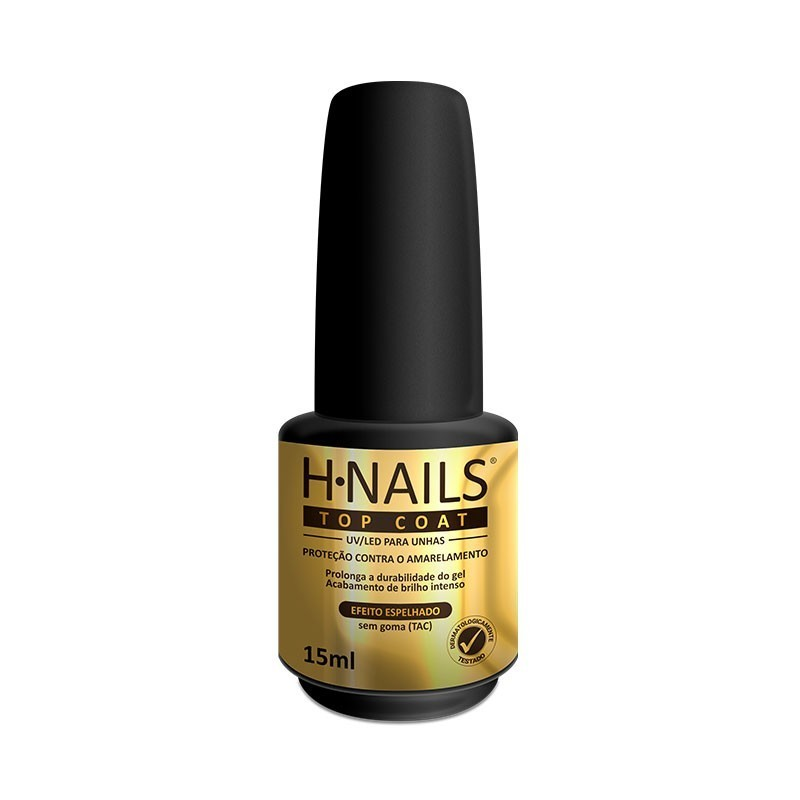 TOP Coat UV/LED para Unhas H.NAILS 15ml