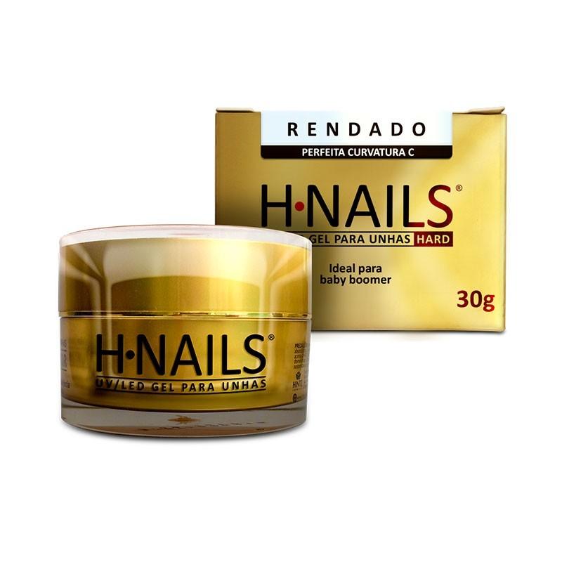 Gel para Unhas H-Nails Hintz Cosmetics Rendado Uv/Led 30G