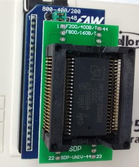 Adaptador CI Flash 29Fxxx p/ Gravador Wellon