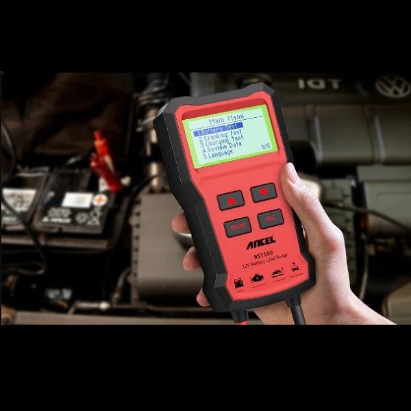 Analisador de Baterias Automotiva Ancel BST100 (2000 CCA)