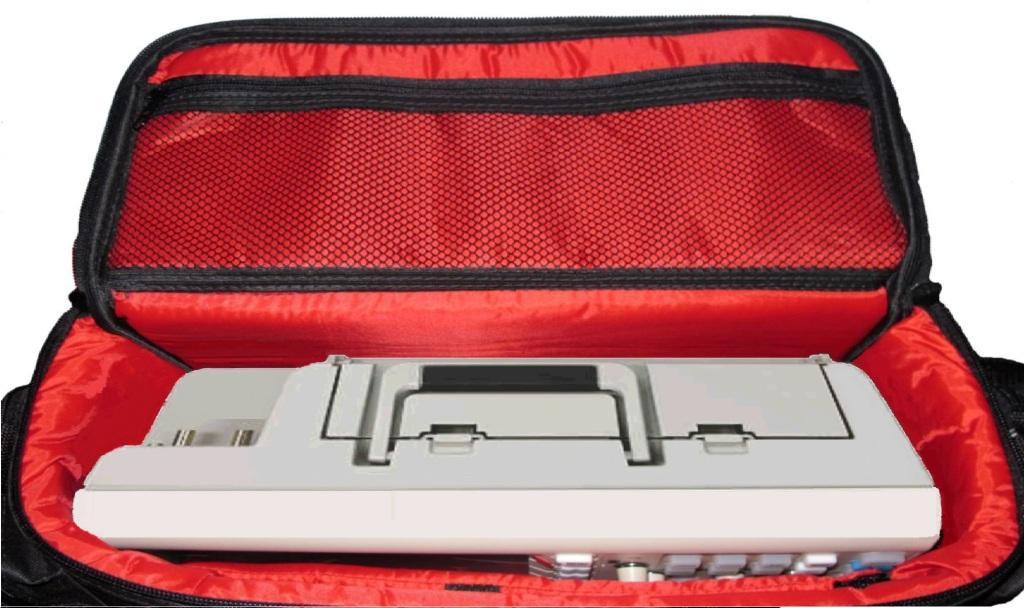 Bolsa, Case p/ Osciloscópio Digital Bancada Mod-II: C40 x L20 x A21 (cm)