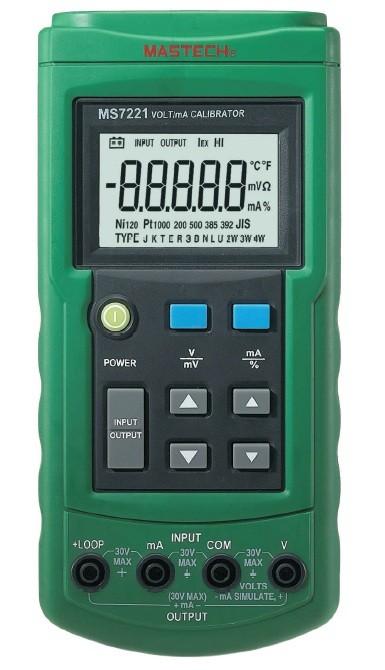 Calibrador Processo Mastech MS7221