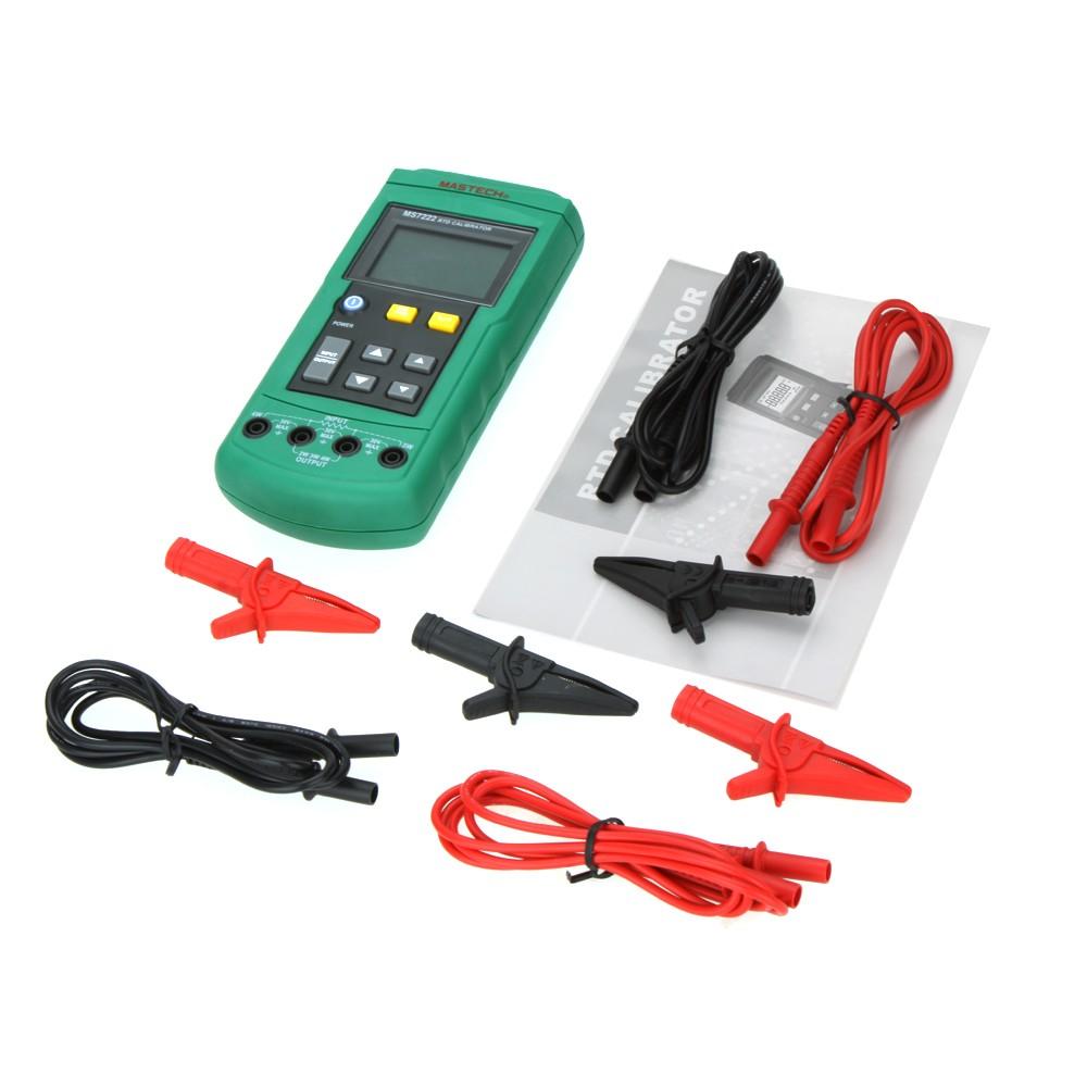 Calibrador RTD Mastech MS7222