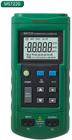 Calibrador Termopares Mastech MS7220