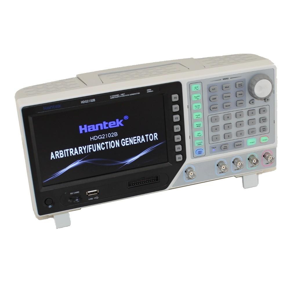 Gerador Funções Arbitrárias Hantek HDG2102B, 100 Mhz, 2canais,  250Msa/s