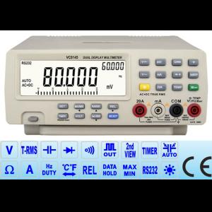 Multímetro de Bancada Digital Vichy VC8145