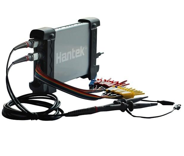 Osciloscópio USB Hantek 20MHz c/ Analisador Lógico 6022BL