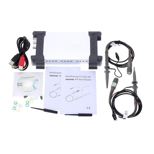 Osciloscópio USB Hantek 50MHz 6052BE