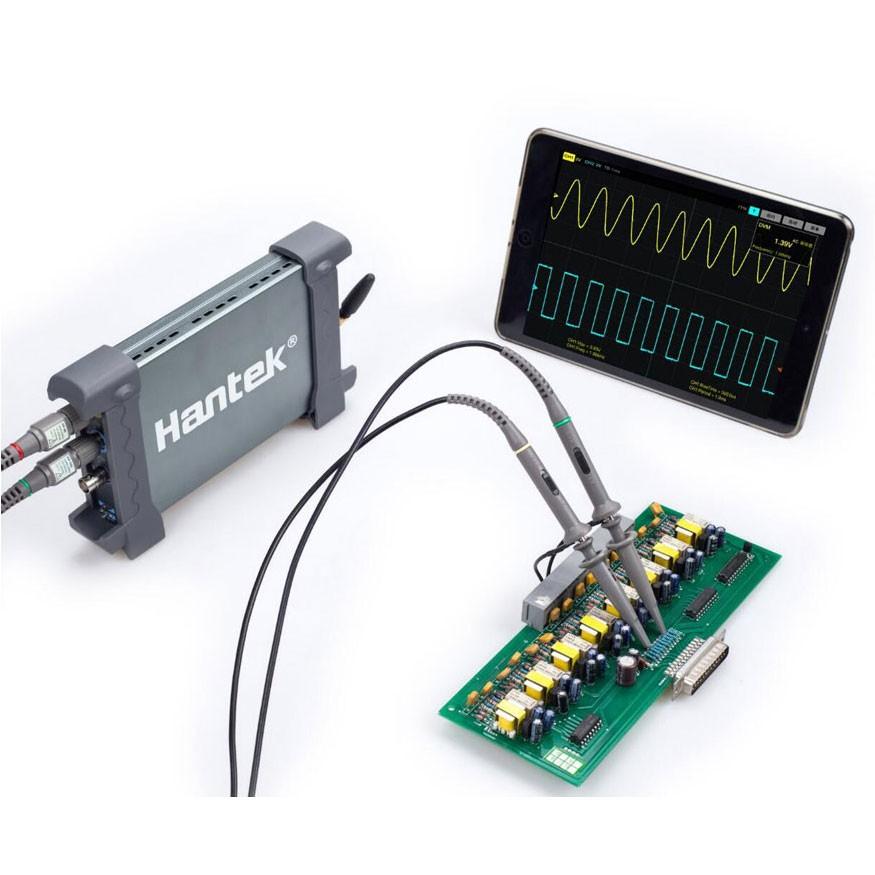 Osciloscópio USB/ WIFI Hantek 70MHz IDSO1070A, 2 canais