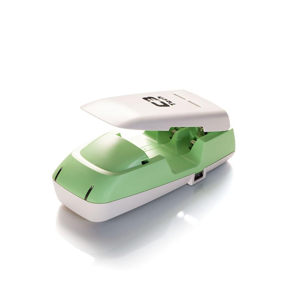 Carregador para Pilhas Alcalina/Rec USB Tipo C3 Tech Uc-Chg2