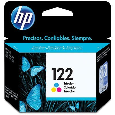 Cartucho HP 122 colorido 2ML Ch562Hb Original