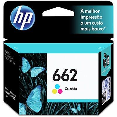 Cartucho HP 662 colorido 2ML CZ104AB Original