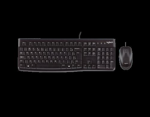 Kit Teclado e Mouse Logitech MK120
