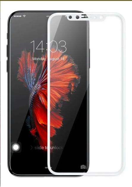 Pelicula de Vidro iPhone X White Baseus Sgapiphx-Ke01