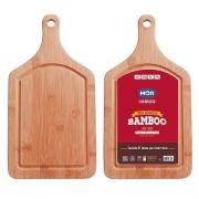 TABUA BAMBOO COM CABO 38,5X20,5CM MOR