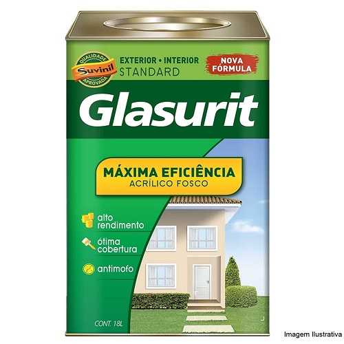 GLASURIT SUVINIL ACR ECON FOSCO 18L