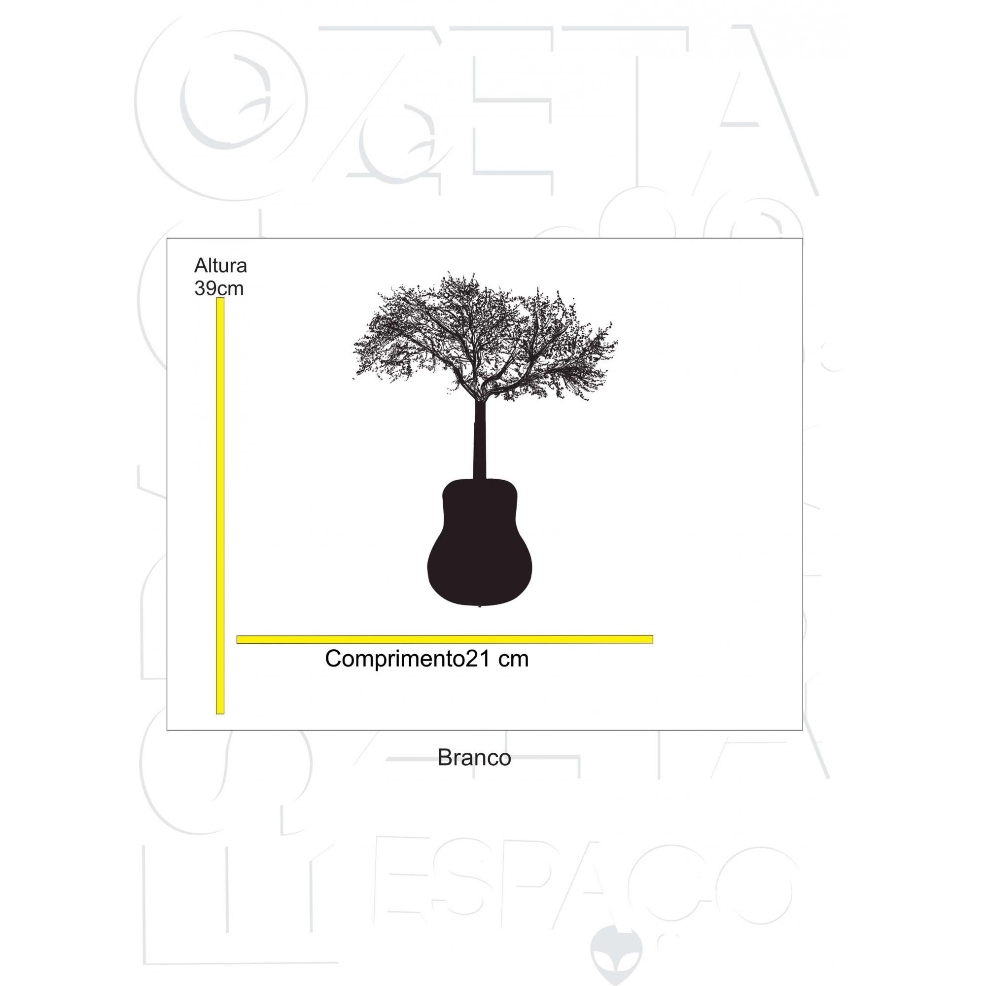 violão arvore manga longa