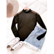 Blusa tule All black