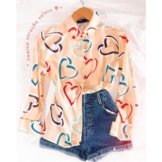 Camisa coração