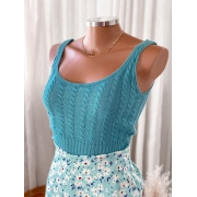 Cropped tricot modal