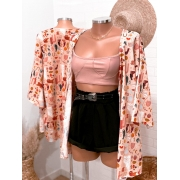 Kimono Mix de estampas pinterest