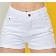 Short Mom jeans White