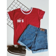 T-shirt Born in 90's