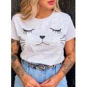 T-Shirt Gatinho