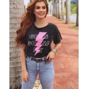 T-shirt MAX estonada Girl gonna fly