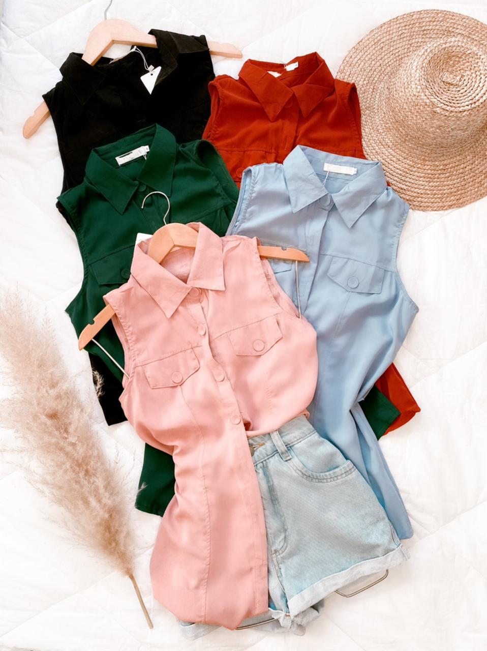 Blusa chemise