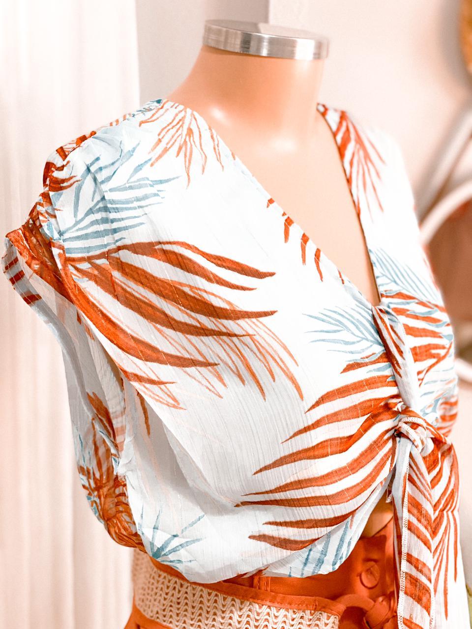 Blusa estampada Margo