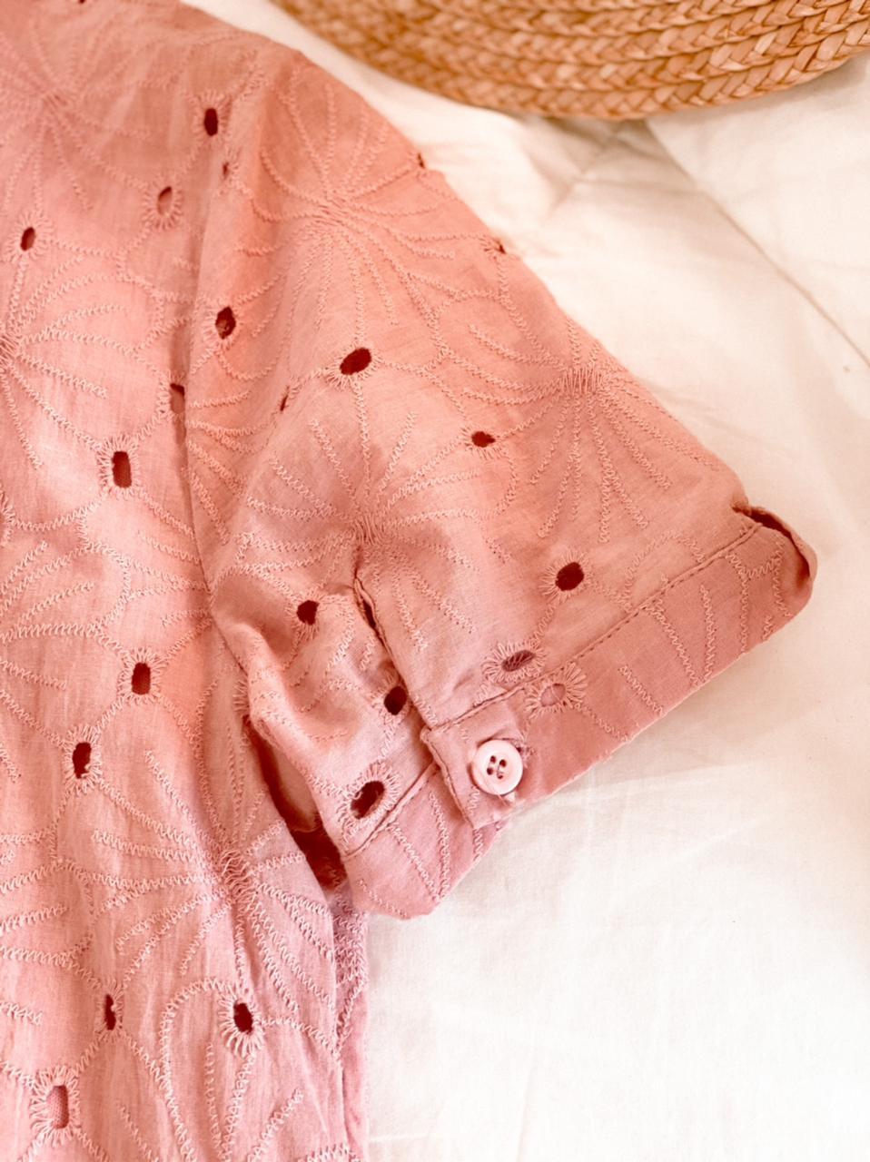 Blusa laise amarração