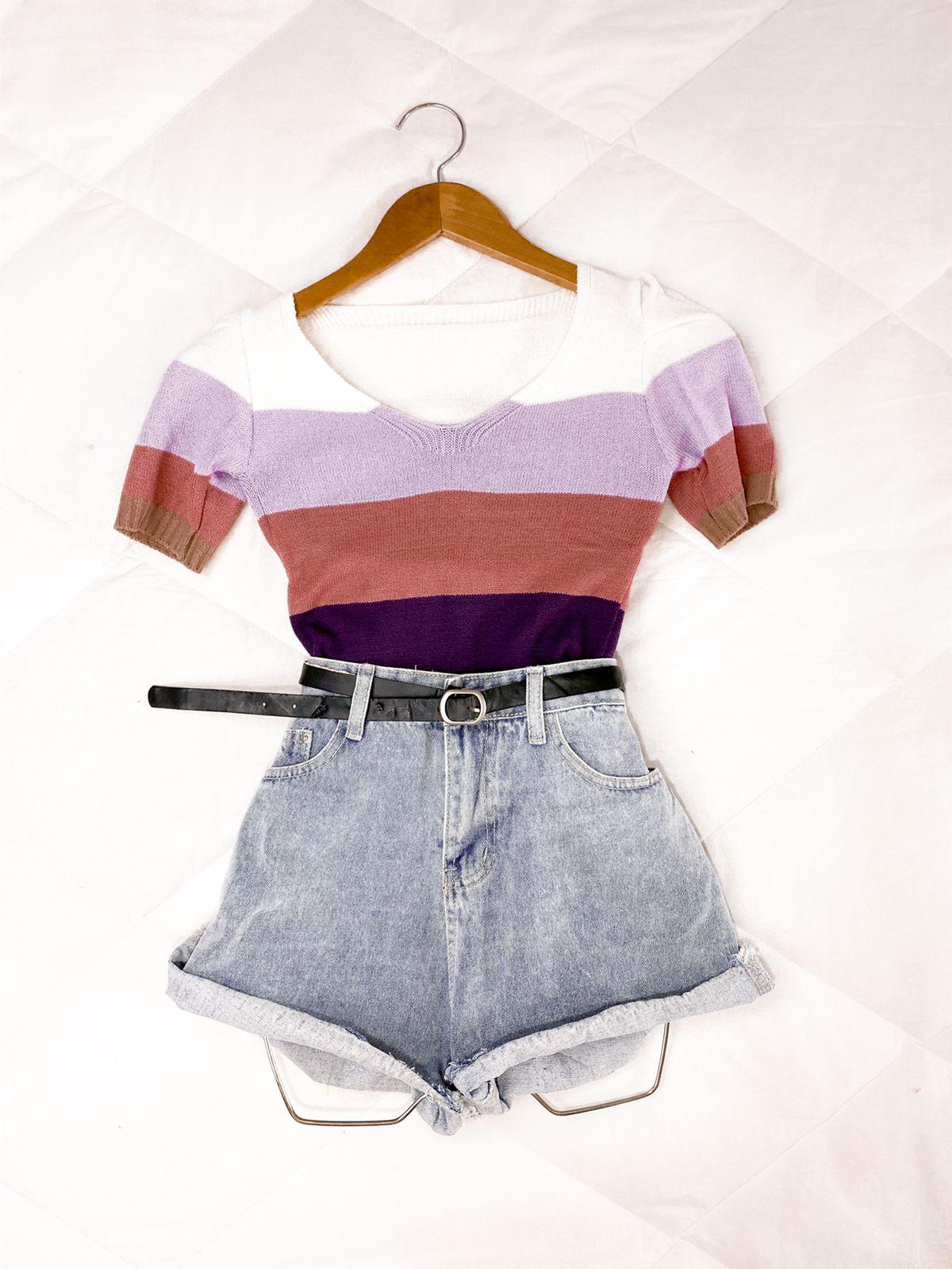 Blusa Modal colors