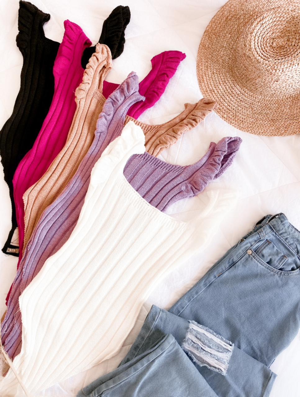 Body tricot modal Camila