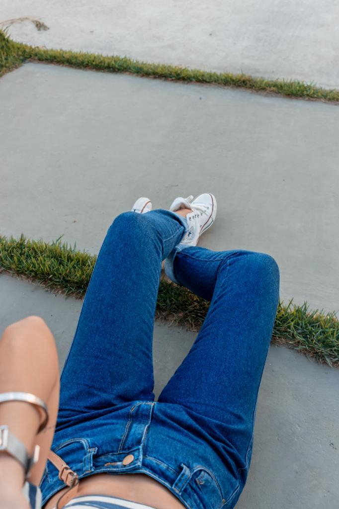 Calça Mom Jeans anos 90