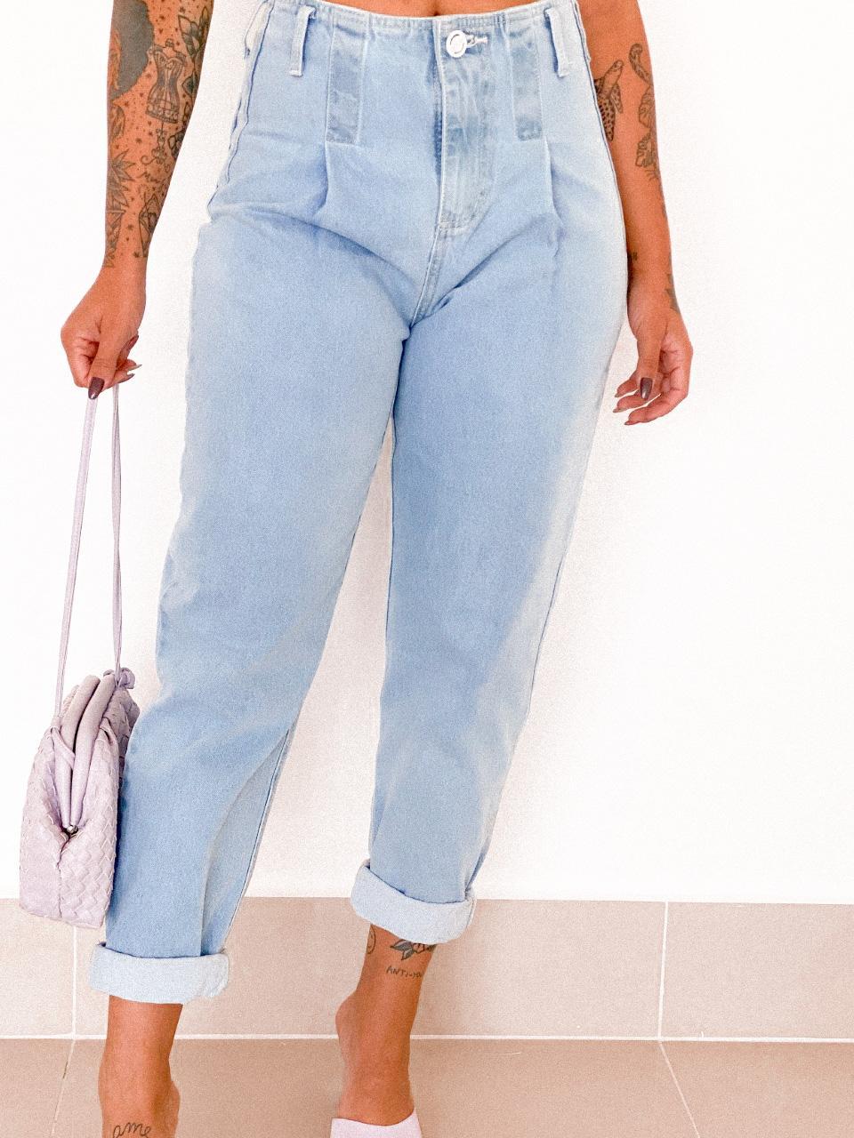 Calça Slouchy Jeans