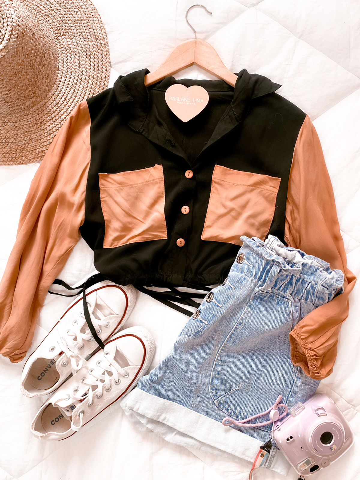 Cropped color block