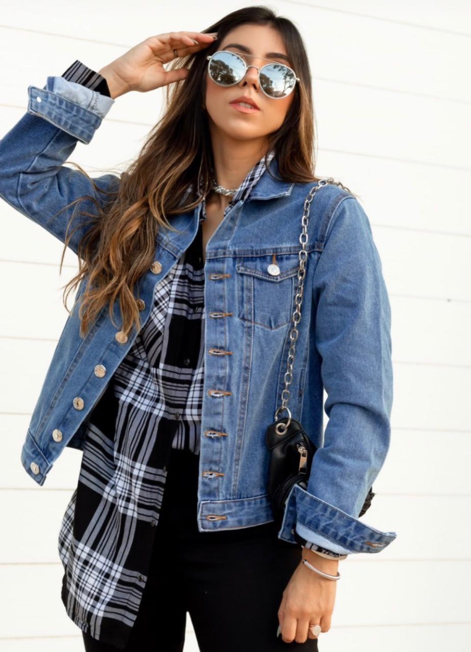 Jaqueta Jeans anos 90