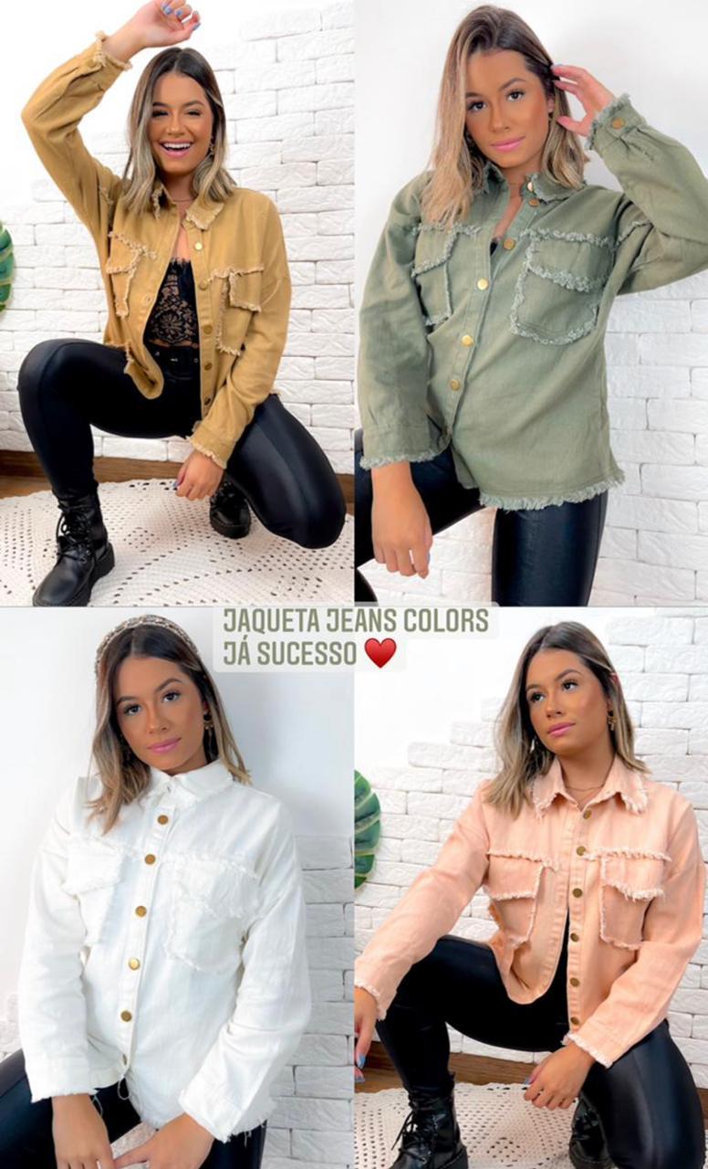 Jaqueta jeans colors